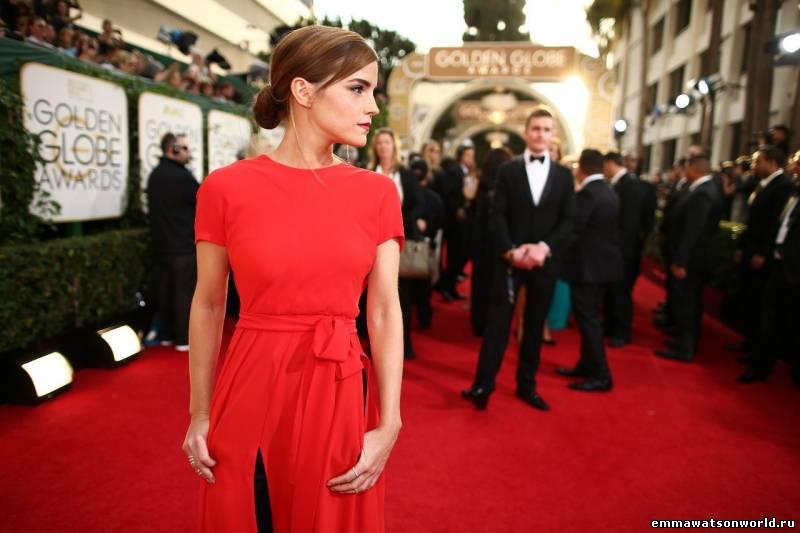Golden Globe Awards 2014 - Emma Watson