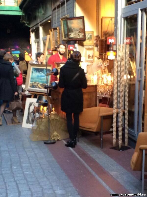 Эмма и Мэтт в Париже