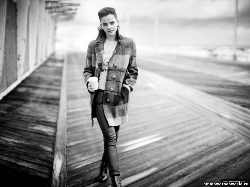Интервью Эммы для Teen Vogue 2013
