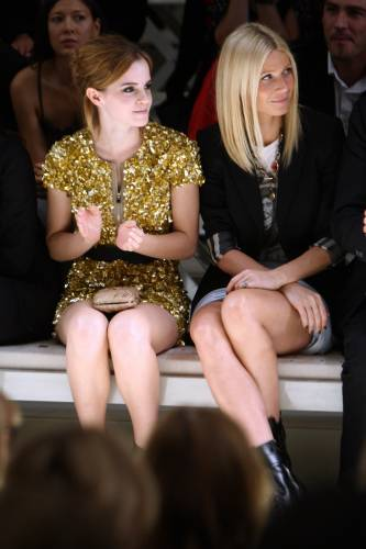 Emma Watson Burberry Party$
