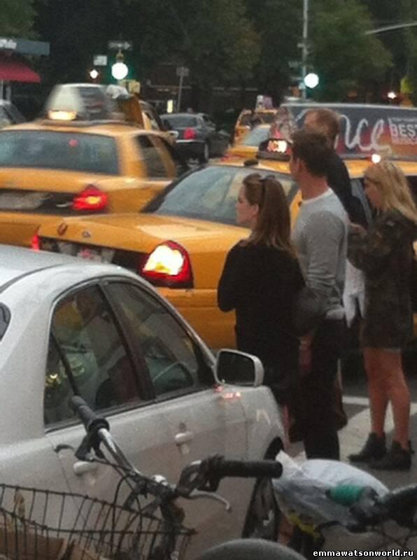 Эмма вернулась в Нью-Йорк, 26 августа