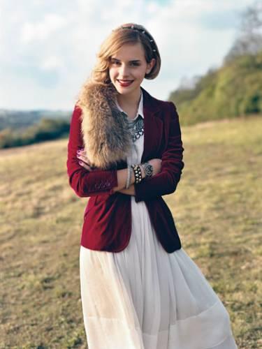 Дебют Эммы Уотсон в моде.