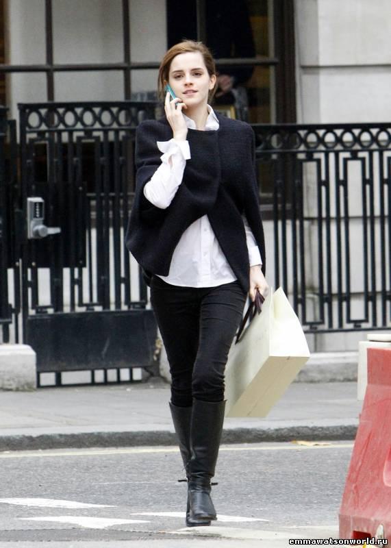 Emma Watson at London