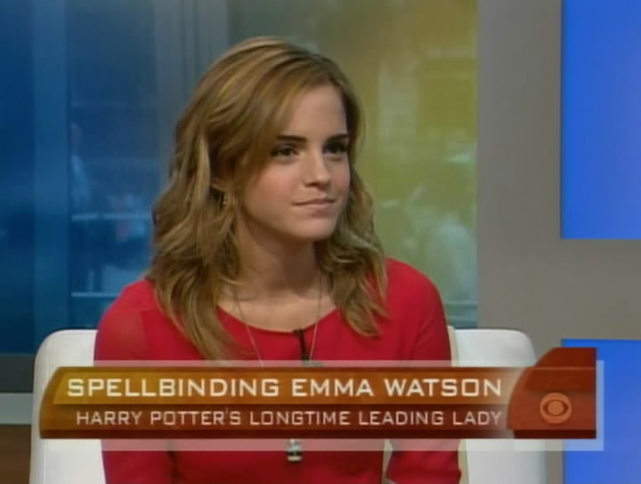 Emma Watson The Early Show$